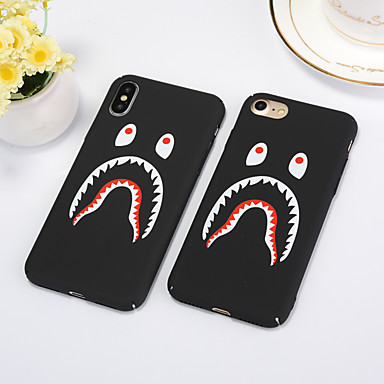 voordelige iPhone 6 Plus hoesjes-hoesje Voor Apple iPhone XS / iPhone XR / iPhone XS Max Stofbestendig / Patroon Volledig hoesje Cartoon PC