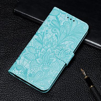 povoljno Samsung oprema-futrola za samsung galaxy a70 / a50 novčanik / držač za karticu / s postoljem futrole za cijelo tijelo cvjetna pu koža za a5 (2018) / a8 (2018) / a6 (2018) / a6 plus (2018) / a7 (2018) / a9 (2018) ) /