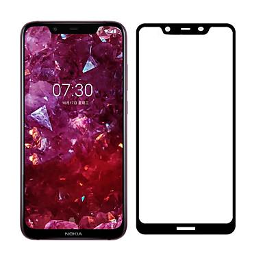 olcso Nokia képernyővédők-naxtop képernyővédő fülvédő a Nokia 7-hez, edzett üvegvédő nagyfelbontású (hd) / 9 órás keménység / 2,5d ívelt él