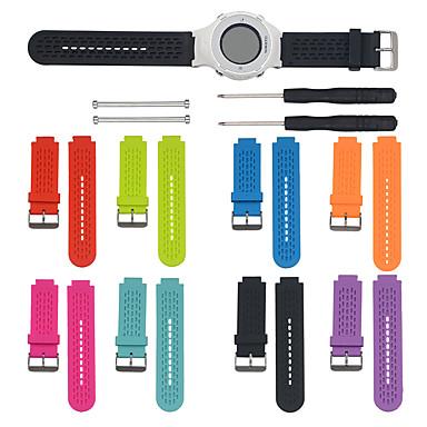 voordelige Smartwatch-accessoires-Horlogeband voor Approach S4 / Approach S2 Garmin Sportband / DHZ Gereedschap Silicone Polsband