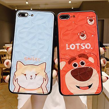 voordelige iPhone 6 Plus hoesjes-hoesje Voor Apple iPhone XS / iPhone XR / iPhone XS Max Stofbestendig / Patroon Achterkant Kat / Hond / Cartoon PC