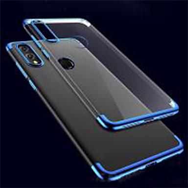 voordelige Huawei Mate hoesjes / covers-hoesje Voor Huawei Huawei P20 / Huawei P20 Pro / Huawei P20 lite Schokbestendig / Ultradun / Transparant Achterkant Effen / Transparant TPU