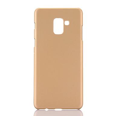 voordelige Galaxy A-serie hoesjes / covers-hoesje Voor Samsung Galaxy A6+ (2018) / A8+ 2018 / A5 Ultradun Achterkant Effen TPU