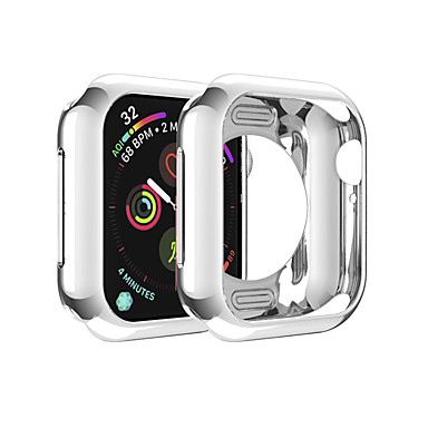Недорогие Аксессуары для мобильных телефонов-чехлы для яблочных часов серии 5 / яблочные часы серии 4 / яблочные часы серии 4/3/2/1 совместимость с тпу apple