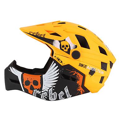 ieftine Căști-Pentru copii biciclete Casca BMX Casca 22 Găuri de Ventilaţie PC (Policarbonat) EPS ABS + PC Sport Exerciții exterior Ciclism / Bicicletă - Negru / Roșu Negru / Portocaliu Galben Unisex