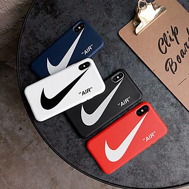voordelige iPhone-hoesjes-hoesje Voor Apple iPhone XS / iPhone XR / iPhone XS Max Stofbestendig / Reliëfopdruk Volledig hoesje Woord / tekst Zacht TPU