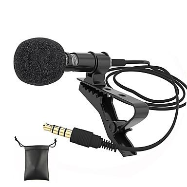 povoljno Dodaci za audio i video opremu-audio mikrofoni 3,5 mm priključak za utičnicu clip-on lavalier mic stereo mini ožičeni vanjski mikrofon za mobilni telefon