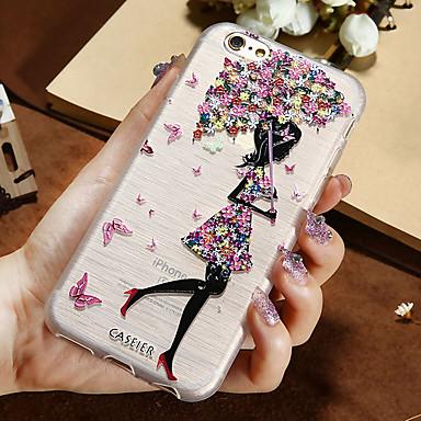 voordelige iPhone-hoesjes-hoesje Voor Apple iPhone XS / iPhone XS Max / iPhone X Stofbestendig / Ultradun / Doorzichtig Achterkant Sexy dame TPU