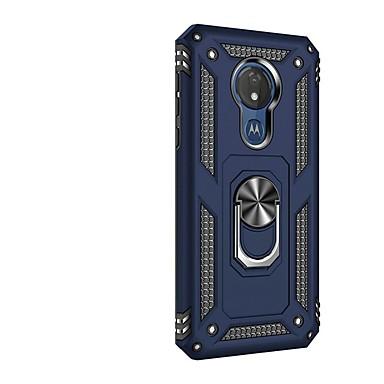 Недорогие Чехлы и кейсы для Motorola-Кейс для Назначение Motorola Мото G7 / Moto G7 Play / Moto G7 Power Защита от удара / со стендом / Кольца-держатели Кейс на заднюю панель броня ТПУ / ПК