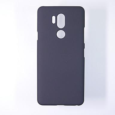 Недорогие Чехлы и кейсы для LG-Кейс для Назначение LG LG G7 / LG G8 / LG G5 Ультратонкий Кейс на заднюю панель Однотонный ТПУ