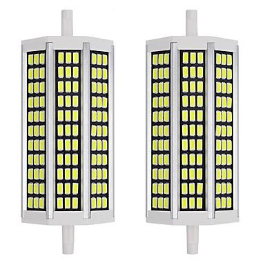 economico LED e illuminazione-2pcs 15 W LED a pannocchia 1500 lm R7S 99 Perline LED SMD 5733 Nuovo design Bianco caldo Bianco 220-240 V 110-120 V