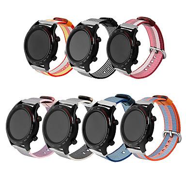 Недорогие Аксессуары для смарт-часов-Ремешок для часов для магия чести huawei Huawei Классическая застежка Нейлон Повязка на запястье