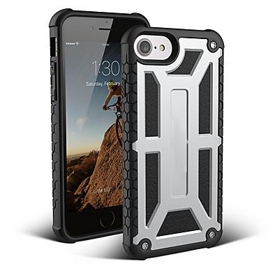 voordelige iPhone 6 hoesjes-hoesje voor Apple iPhone XS / iPhone XR / iPhone XS Max schokbestendige achterkant Armor TPU / koolstofvezel