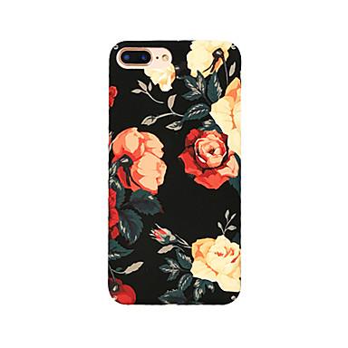 Недорогие Кейсы для iPhone 6-Кейс для Назначение Apple iPhone XS / iPhone XR / iPhone XS Max Защита от пыли / С узором Кейс на заднюю панель Цветы ПК
