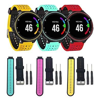 voordelige Smartwatch-accessoires-Horlogeband voor Forerunner 630 / Forerunner 620 / Forerunner 235 Garmin Klassieke gesp / DHZ Gereedschap Silicone Polsband