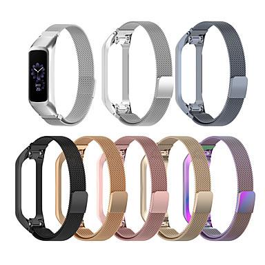 Недорогие Часы для Samsung-Запасной ремешок для часов из нержавеющей стали ремешок на запястье для Samsung Galaxy Fit E Sm-R375 SmartWatch Милан ремешок ремешок браслет