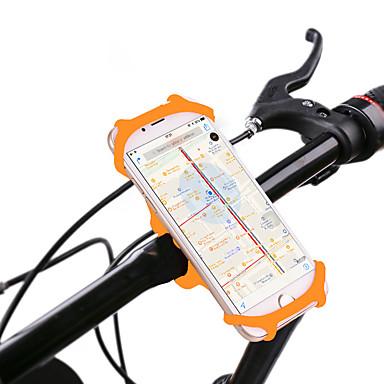 olcso Tartók-Telefon tartó 360° forgás mert Treking bicikli Mountain bike összecsukható kerékpár Szilikon iPhone X iPhone XS iPhone XR Kerékpározás Fekete Narancssárga Zöld