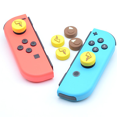 cheap Video Game Accessories-Game Accessories Kits For Nintendo Switch ,  Lovely Game Accessories Kits Full Body Silicone 4 pcs unit