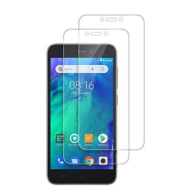 Недорогие Защитные плёнки для экранов Xiaomi-2шт Motorola протектор экрана xiaomi redmi go / 7 / 6a / 6 pro / s2 / 5a / 5 плюс защитная пленка переднего экрана высокой четкости (hd) 2 шт. Закаленное стекло