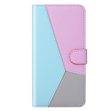 Недорогие Чехлы и кейсы для Sony-Кейс для Назначение Sony Sony Xperia L3 / Sony Xperia XZ3 / Xperia XA2 Кошелек / Бумажник для карт / Защита от удара Чехол Градиент цвета / Однотонный Кожа PU