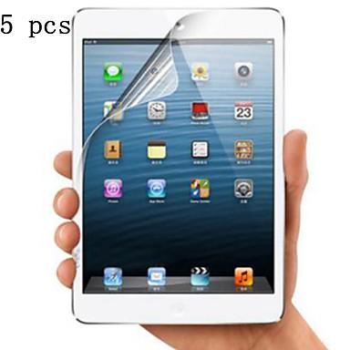 olcso iPad kijelzővédő fólia-alma képernyővédő ipad 4/3/2 / ipad air / ipad air 2 / ipad air (2018) / ipad new air (2019) / ipad pro 9.7 / ipad pro 11 / ipad mini 1/2/3/4/5 magas meghatározás (hd) elülső képernyővédő, 5 pc
