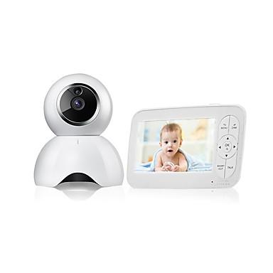 رخيصةأون كاميرات المراقبة IP-1mp مراقبة الطفل cmos للرؤية الليلية المدى 5 متر كاميرا الأمن اللاسلكية اتجاهين الصوت عن بعد للرؤية الليلية الحركة كشف شاشة lcd 720 وعاء hd اتجاهين الصوت درجة حرارة الصوت إنذار الأمن