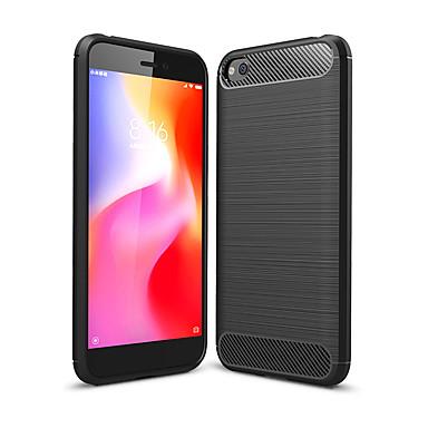 Недорогие Чехлы и кейсы для Xiaomi-чехол для xiaomi redmi go / y3 / s2 / 7/6 pro / 5 plus / 6a / 5a противоударная / пыленепроницаемая задняя крышка из сплошного цветного углеродного волокна