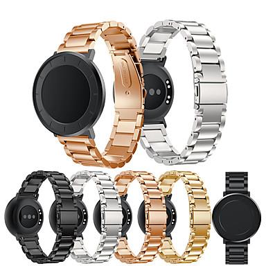 Недорогие Ремешки для часов Huawei-ремешок наручные ремешок из нержавеющей стали из металла для часов huawei / huawei b5 / huawei fit / huawei honor s1 браслет браслет сменные аксессуары