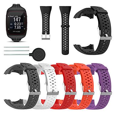 Χαμηλού Κόστους Watch band for Polar-ζώνη smartwatch για πολικό m430 / m400 πολική ζώνη σπορ μπάντα μαλακό λουρί καρπού σιλικόνης