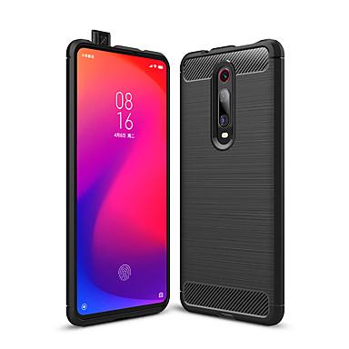رخيصةأون Xiaomi أغطية / كفرات-حالة xiaomi mi 9t الموالية / 9/8 لايت / se / المستكشف / 6 صدمات / الغبار الغطاء الخلفي الصلبة ألياف الكربون الملونة