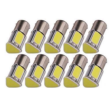 voordelige Automistlampen-10 stuks 1156 Automatisch Lampen 5 W COB 4 LED Mistlamp / Richtingaanwijzerlicht / Remlichten Voor Universeel Alle jaren