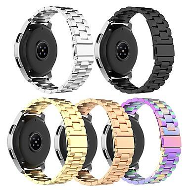 Недорогие Часы для Samsung-Ремешок для часов для Gear 2 R380 / Gear 2 Neo R381 / Samsung Galaxy Watch 46 Samsung Galaxy Бизнес группа Нержавеющая сталь Повязка на запястье