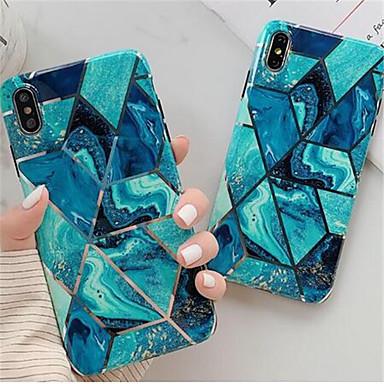 povoljno Maske za mobitele-luksuzni zlatni geometrijski set mramornih ćelija za iphone 6 / 6s / 6p / 6sp / 7/8 / 7p / 8p / x / xs / xr / 11 / 11p mekani set tpu stanica