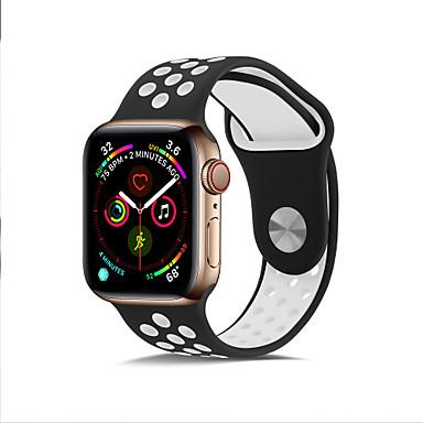 olcso Apple Watch zenekarok-tok sávmal az Apple Watch 5. sorozathoz / az Apple Watch 4. sorozathoz / az Apple Watch 3. sorozathoz, tpu kompatibilitási almához