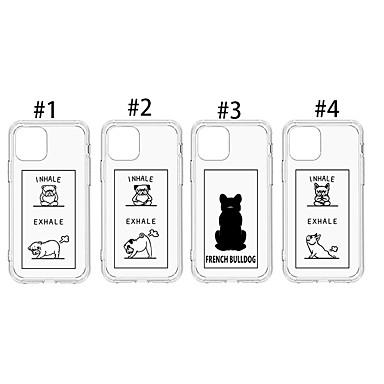 Недорогие Кейсы для iPhone-Кейс для Назначение Apple iPhone 11 / iPhone 11 Pro / iPhone 11 Pro Max Защита от пыли / С узором Кейс на заднюю панель С собакой / Прозрачный / Животное ТПУ