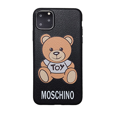 voordelige iPhone-hoesjes-hoesje Voor Apple iPhone 11 / iPhone 11 Pro / iPhone 11 Pro Max Ultradun / Patroon Achterkant dier / Cartoon TPU