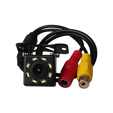voordelige Auto-achteruitkijkcamera-ziqiao universele 8 led auto nachtzicht reverse monitoring automatisch parkeren waterdichte 170-graden hd video backup camera