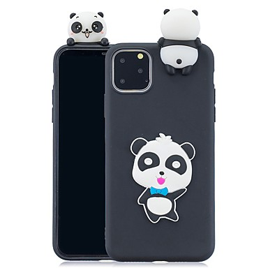 voordelige iPhone 7 hoesjes-hoesje Voor Apple iPhone 11 / iPhone 11 Pro / iPhone 11 Pro Max Patroon Achterkant 3D Cartoon TPU