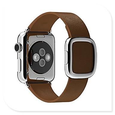 Недорогие Аксессуары для смарт-часов-Ремешок для часов для Apple Watch Series 4 / Apple Watch Series 3 Apple Спортивный ремешок Натуральная кожа Повязка на запястье