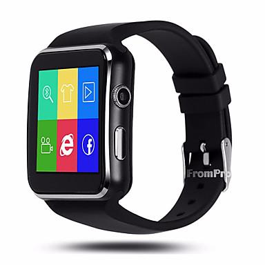 رخيصةأون ساعات ذكية-الرجال yyx6 smartwatch الروبوت ios بلوتوث gps الرياضة شاشة اللمس السعرات الحرارية حرق طويل الاستعداد نشاط المقتفي النوم المقتفي تذكير المستقرة تجد جهازي ممارسة تذكير / مكالمات اليدين