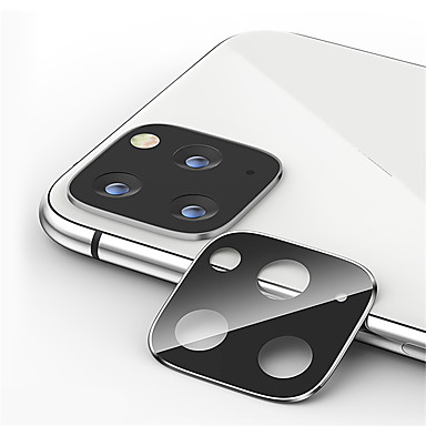voordelige iPhone screenprotectors -metalen cameralensbeschermer voor Apple iPhone 11/11 pro / 11 pro max gehard glas high definition (hd)