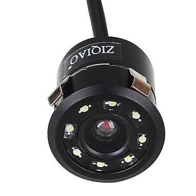voordelige Auto-achteruitkijkcamera-ziqiao universele 8 led hd nachtzicht 18,5 mm auto achteruitrijcamera 170 graden achteruitrijcamera achteruitrijcamera