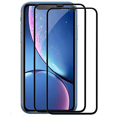 voordelige iPhone screenprotectors-Asling Apple Screenprotector iPhone XS / X / XR / XS Max 9 uur hardheid Screenprotector voor het hele lichaam 2 stuks gehard glas