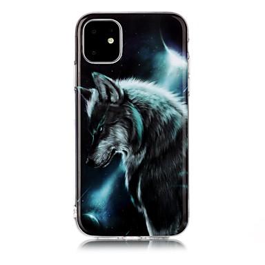 voordelige iPhone 5 hoesjes-hoesje Voor Apple iPhone 11 / iPhone 11 Pro / iPhone 11 Pro Max IMD / Ultradun / Patroon Achterkant dier TPU