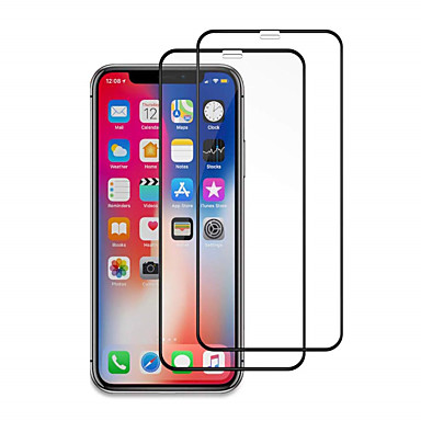 voordelige iPhone screenprotectors -2 stks 9 uur gehard glas screen protector voor iPhone 11/11 pro / 11 pro max / xs max / xr / xs / x / 8plus / 8 / 7plus / 7 / 6plus / 6