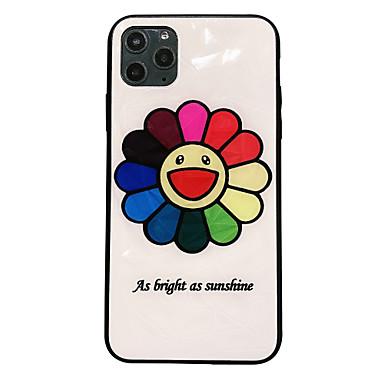 Недорогие Кейсы для iPhone 6-Кейс для Назначение Apple iPhone 11 / iPhone 11 Pro / iPhone 11 Pro Max Ультратонкий / С узором Кейс на заднюю панель Плитка / Мультипликация ТПУ