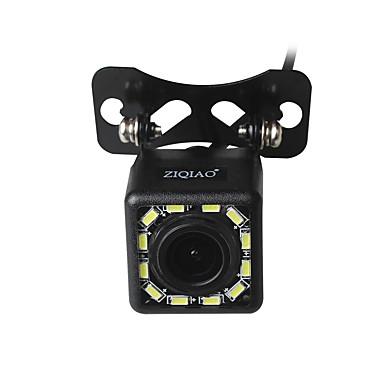 Недорогие Камеры заднего вида для авто-Ziqiao 12 светодиодные фонари 170-градусного ночного видения водонепроницаемый автомобильная камера заднего вида резервного копирования