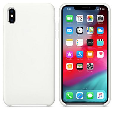 voordelige iPhone X hoesjes-luxe originele officiële siliconen hoes voor iPhone 7 8 plus voor Apple hoes voor iPhone Xs Max XR iPhone 11 Pro Max Cover Case