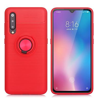 Θήκη Za Xiaomi Xiaomi Redmi 7 / Redmi Note 7 / Redmi Note 6 Pro Prsten držač / Ultra tanko / S magnetom Stražnja maska Jednobojni TPU