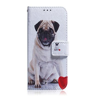 Недорогие Кейсы для iPhone 7 Plus-Кейс для Назначение Apple iPhone 11 / iPhone 11 Pro / iPhone 11 Pro Max Бумажник для карт / Защита от удара / С узором Чехол Животное ТПУ